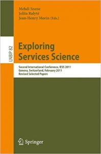 exploring services science iess 2011