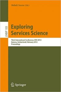 exploring services science iess 2012