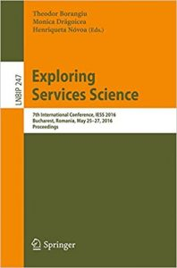 exploring services science iess 2016